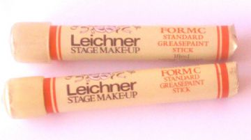 Leichner paint stick No 9 brick red